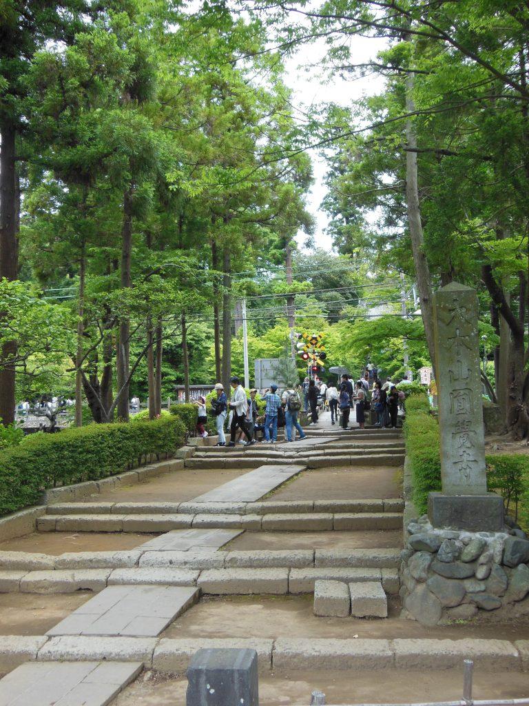 円覚寺の参道