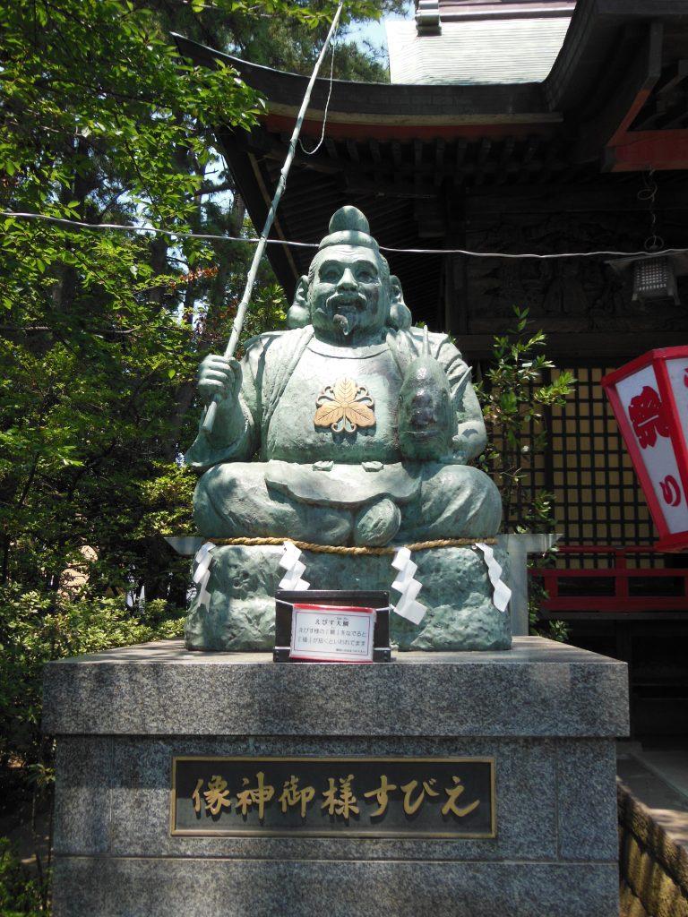 平塚三嶋神社・えびす様像