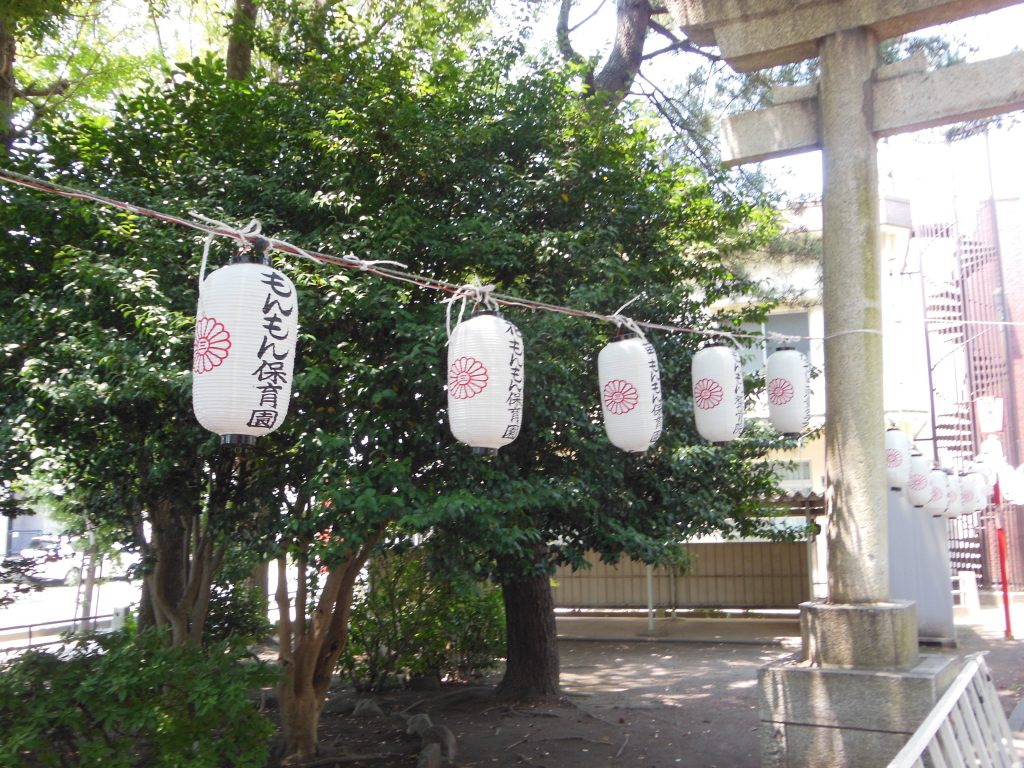 平塚三嶋神社夏祭り提灯
