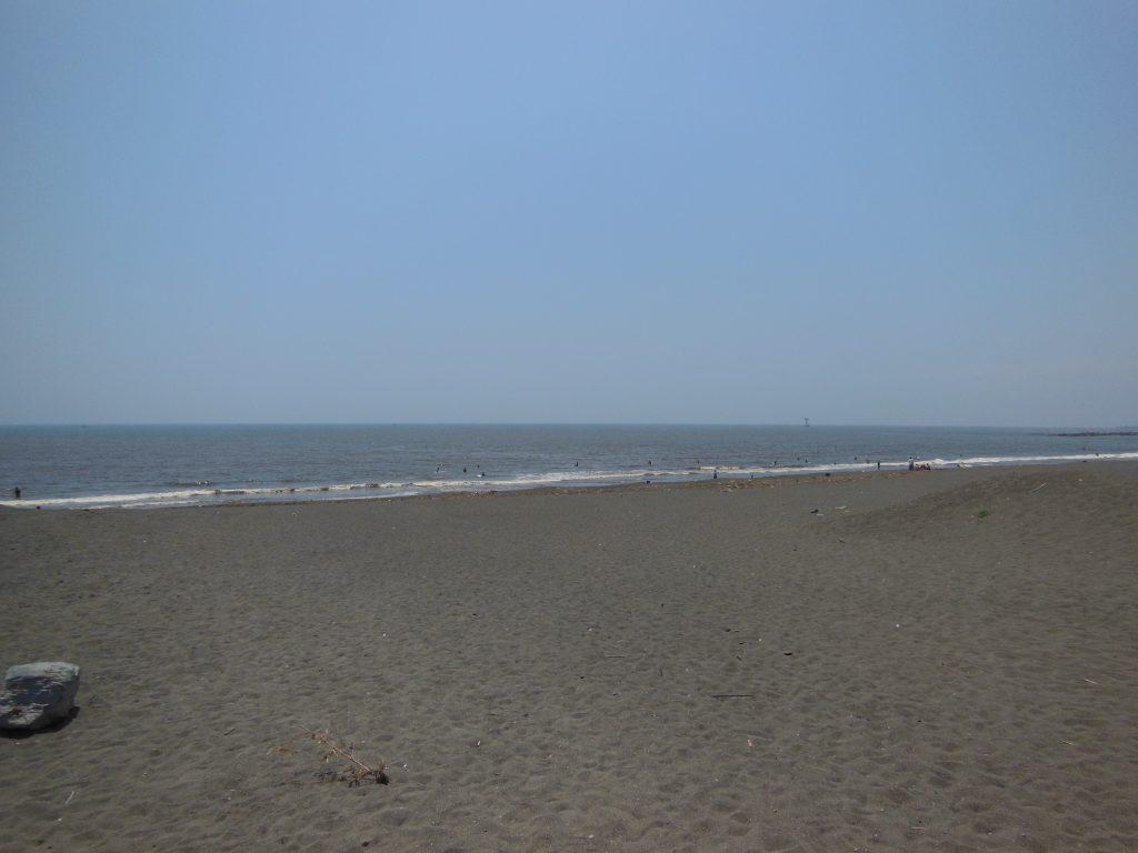 平塚のビーチ