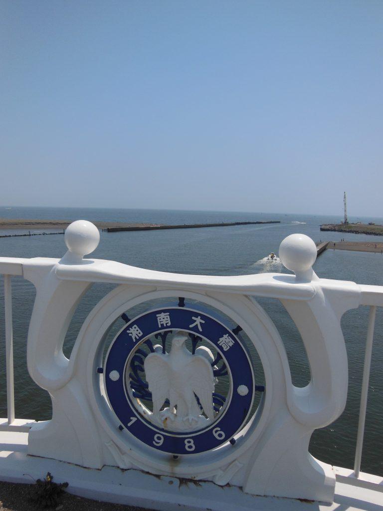 湘南大橋から望む相模湾