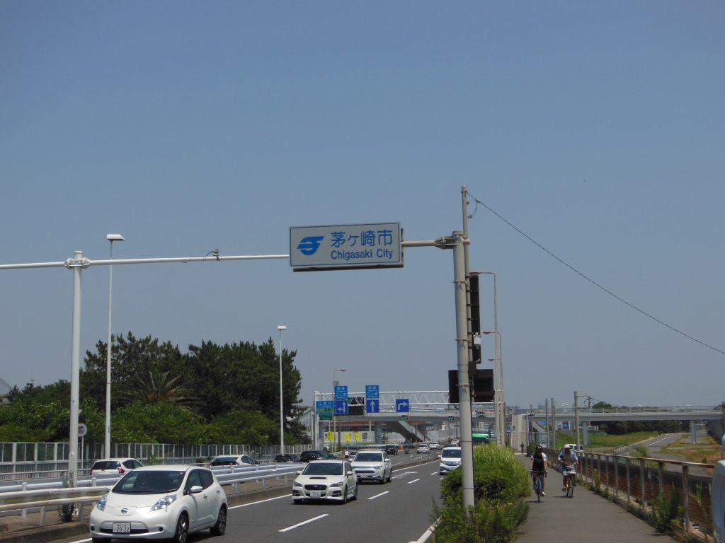 湘南大橋平塚・茅ヶ崎市境