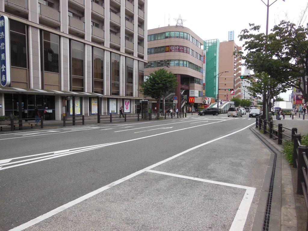 湘南台駅西側