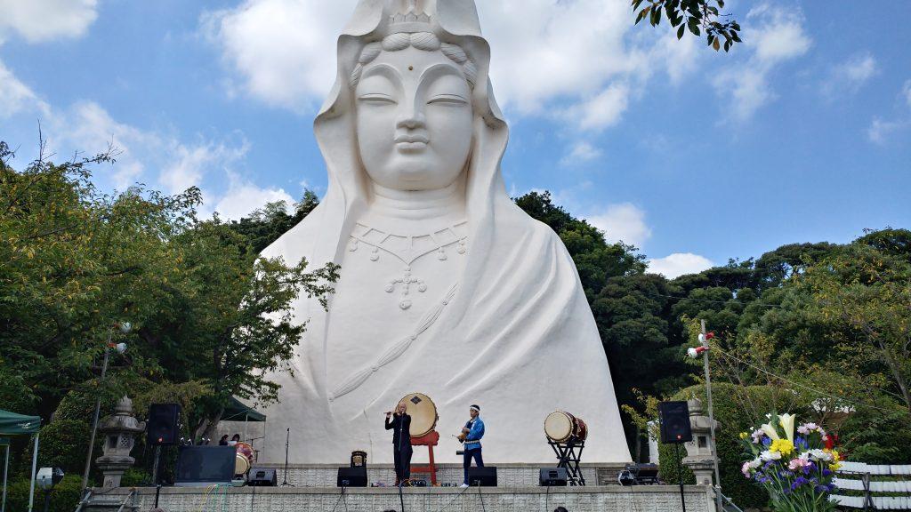 アジアフェスティバルの一コマ