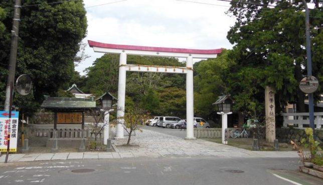 鎌倉宮・入口