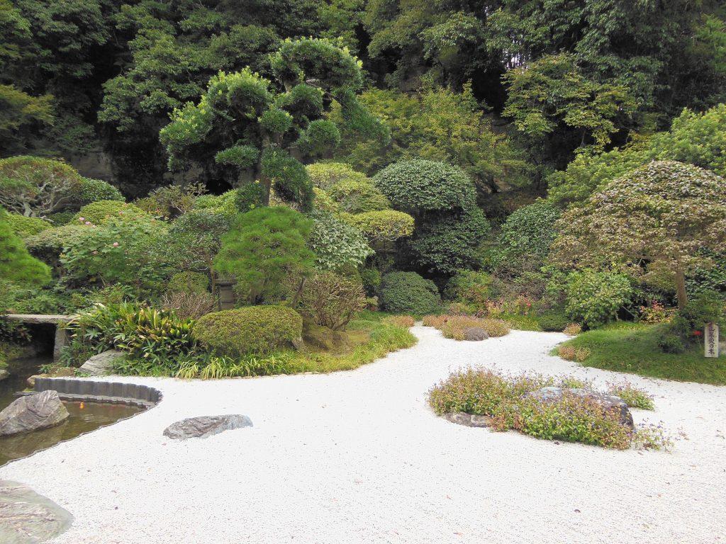 報国寺の枯山水庭園
