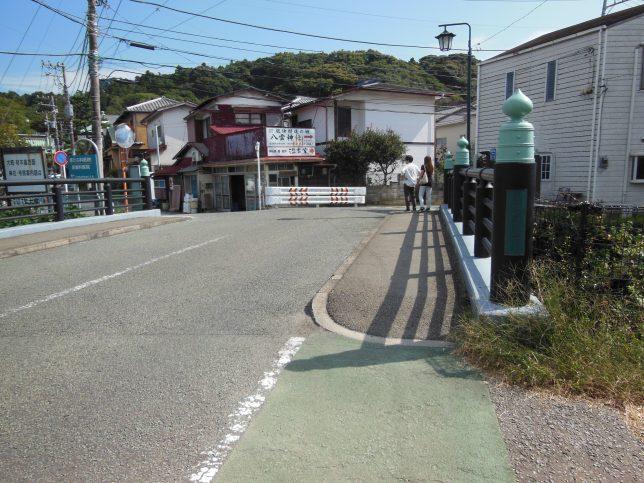 本覚寺前の夷堂橋
