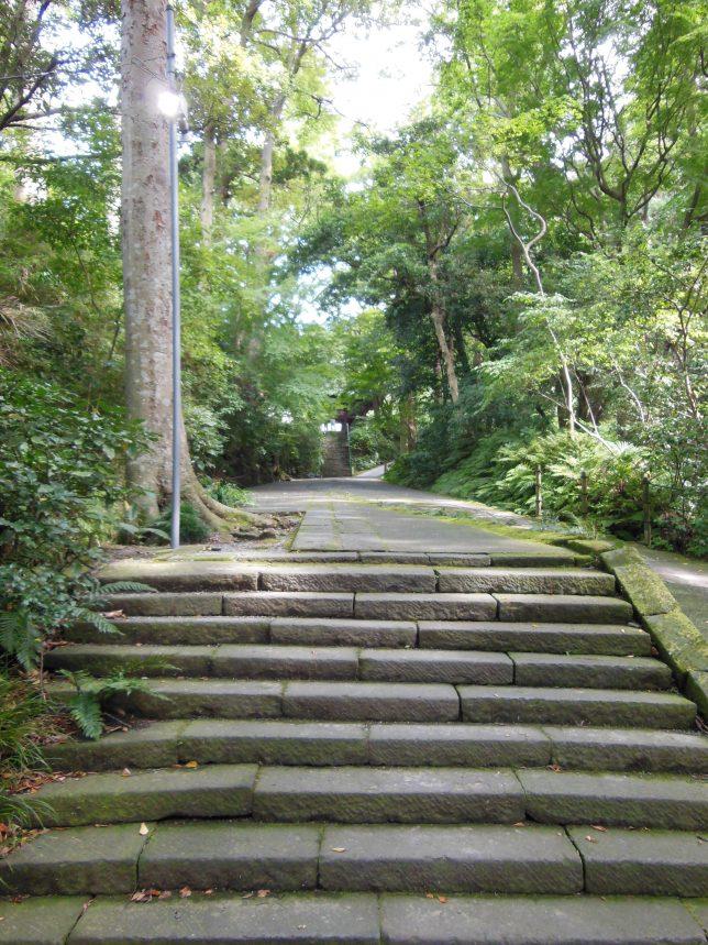 妙本寺の広い境内