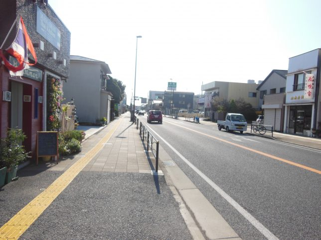 国道1号を小田原方面へ