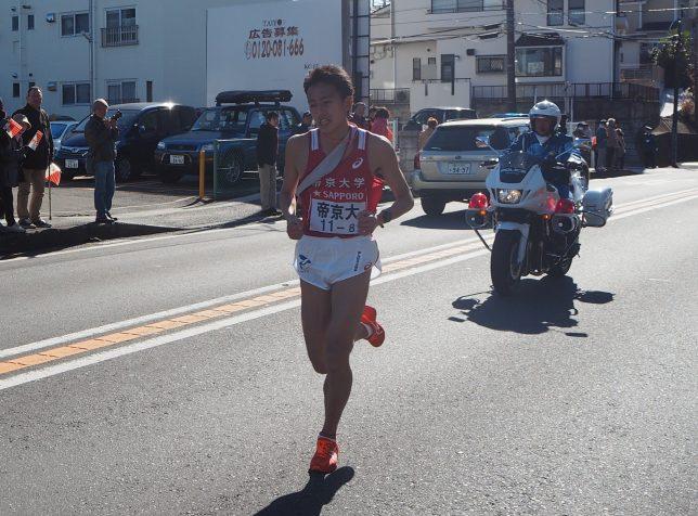 帝京大学・田村選手