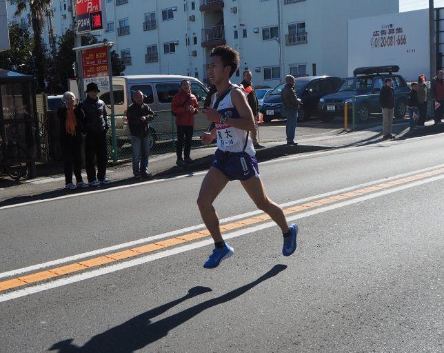 駒澤大学・白頭選手