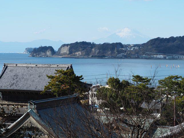 光明寺展望台からの富士山