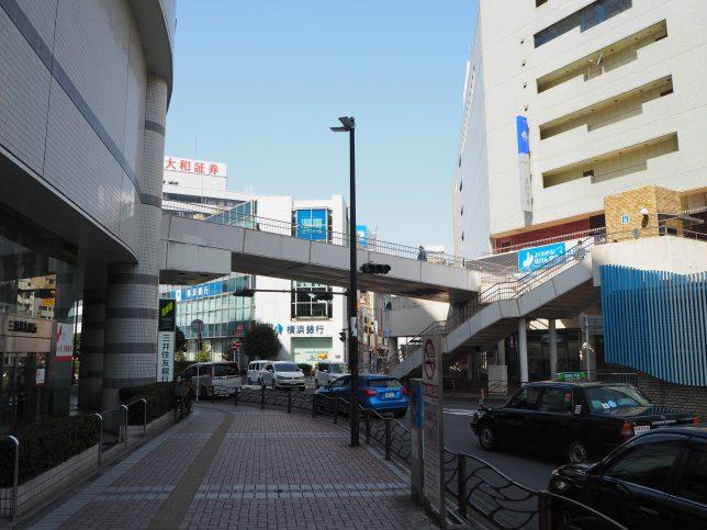 藤沢駅北口をスタート