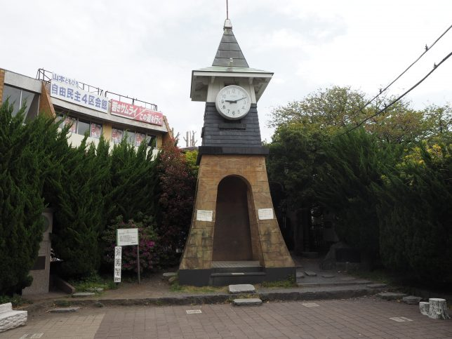 駅前の時計台