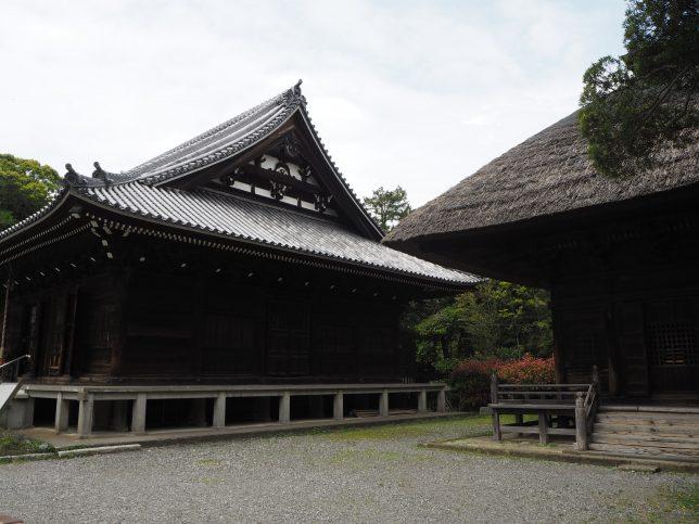 称名寺の金堂と釈迦堂