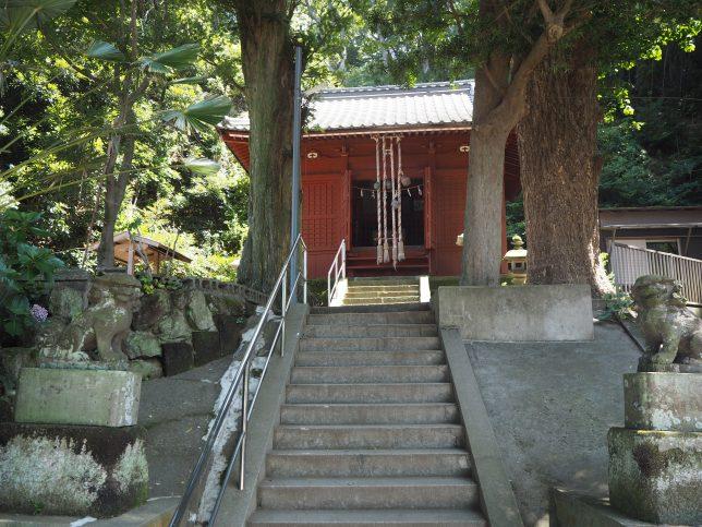 小網代の鎮守・白髭神社