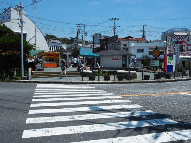 三崎港から城ケ島を目指す