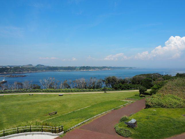 城ケ島公園・展望台からの眺め